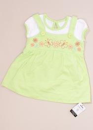Tricou tip rochie George 0-3 luni