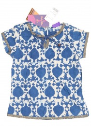 Bluza pink and blue 3-4 ani