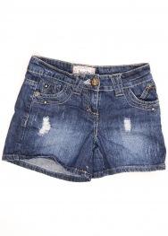 Pantaloni scurti boyfriend short 10-11 ani