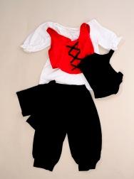 Costum gimnastica  8-10 ani