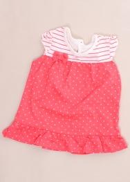 Tricou tip rochie George 3-6 luni