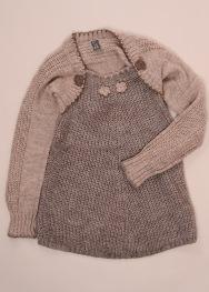 Pulover tip rochie Zara 7-8 ani
