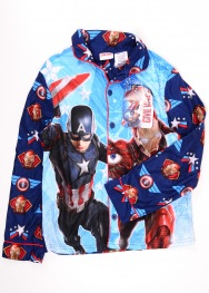Bluza de pijama  civil war 10-12 ani