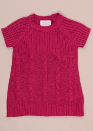 Pulover tip rochie Okay 6-9 luni