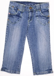 Pantaloni 3/4 Denim Co. 9-10 ani